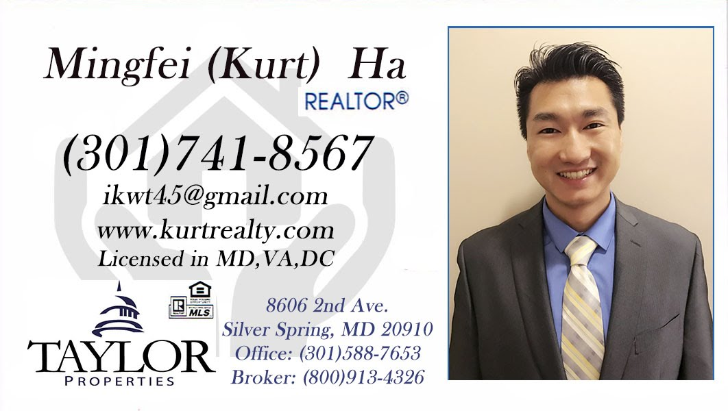 Mingfei (Kurt) Ha | Realtor® Licensed in MD, VA, DC